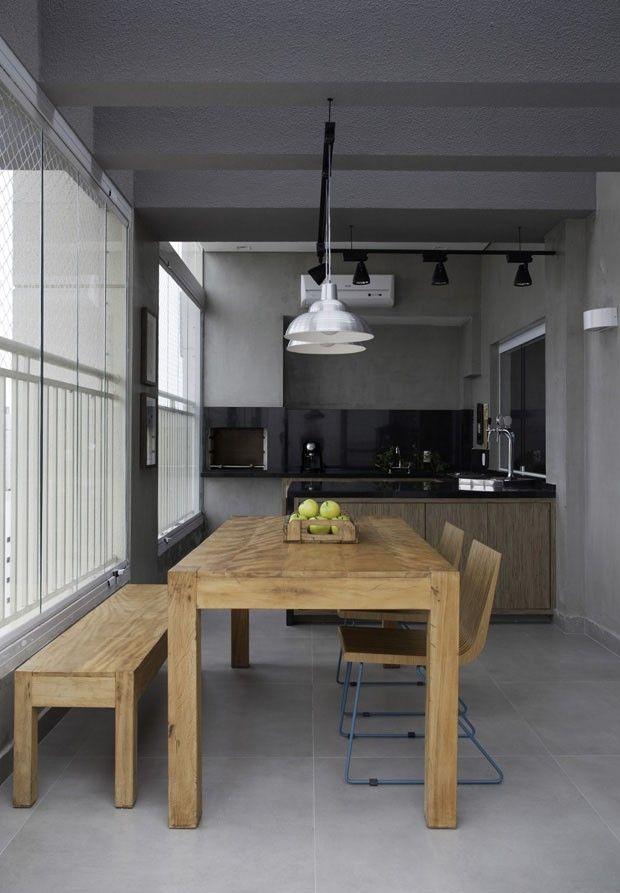 Apartamento é transformado em loft para a família