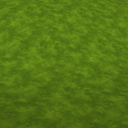 Hand painted grass texture.