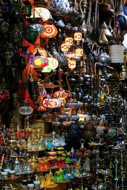 Bazaar by F H Mira on Flickr.Grand Bazar, Istambul, Turkey
