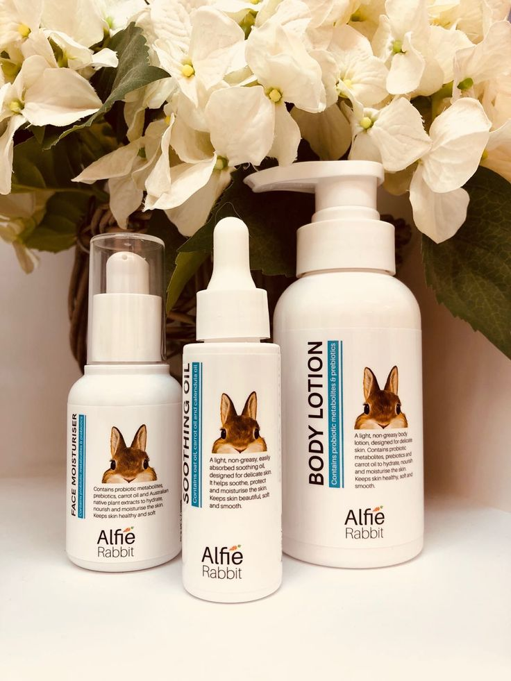 Alfie Rabbit is a beautiful Australian probiotic & prebiotic baby care brand. Products include Face Moisturiser, Soothing Oil and Body Lotion.