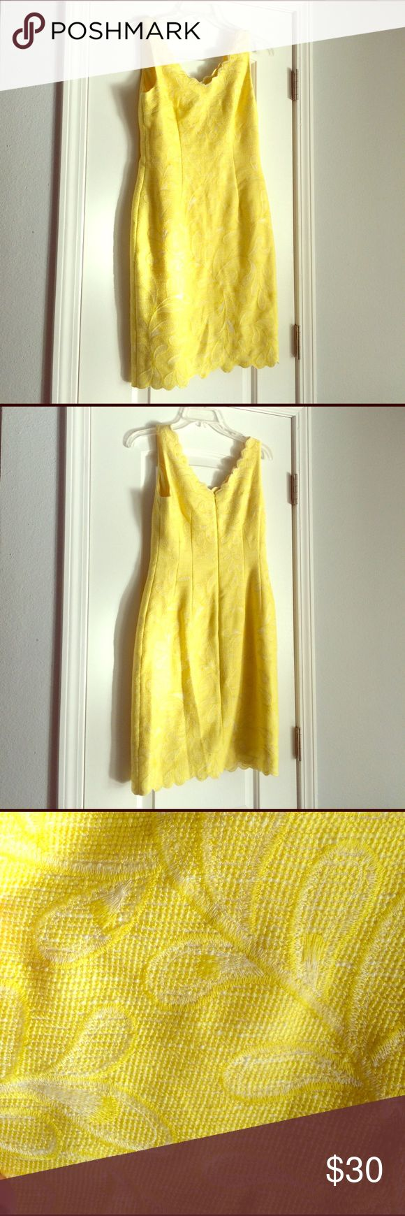 Antonio Melani Size 2 yellow cocktail dress Yellow cocktail dress Size 2 ANTONIO MELANI Dresses