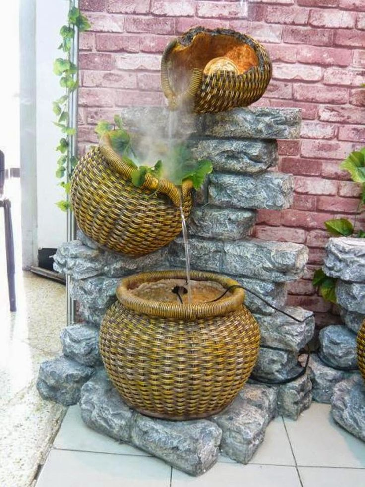 194 best fountainsponds images on Pinterest Tabletop fountain