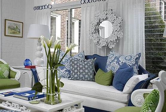1000 ideas about blue green rooms on pinterest green - Green and blue living room pictures ...