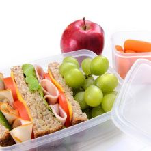 Give your child a head start with a healthy lifestyle. Pack a healthy, well balanced meal daily. It's good for ev...