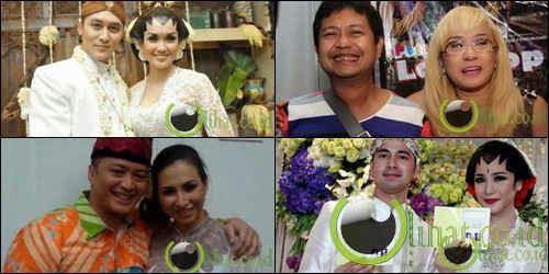 6 Artis Indonesia yang Gagal Lakukan Malam Pertama