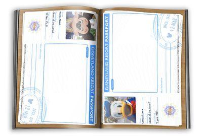 Pasaporte de todos los personajes Disney