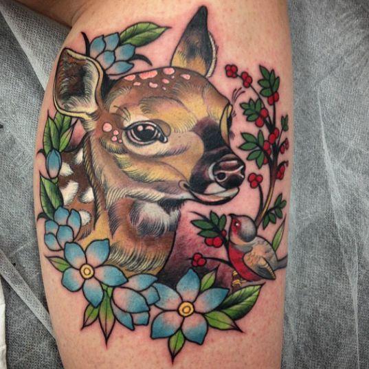 26 Deer Tattoos: 1000+ Ideas About Cute Animal Tattoos On Pinterest