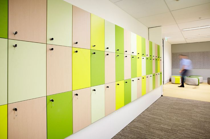 Big office lockers design inspiration medical facilities Designer lockers