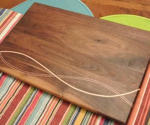 A unique style of cutting board