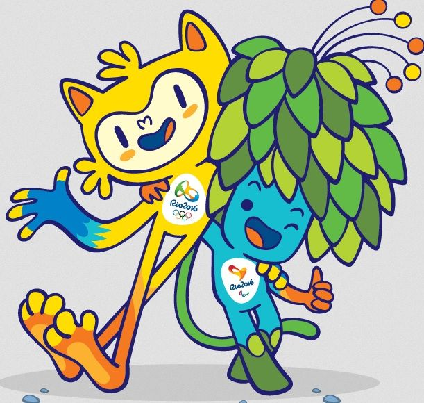 brandchannel:Meet Your Rio 2016 Olympics Mascots - brandchannel: