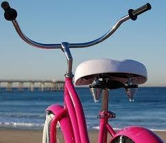 Beach Cruising PCHPink Summer, Pink Cruiser, Cruiser Bikes, Dreams, Pink Bikes, Hot Pink, Beach Bikes, Bikes Riding, Beach Cruiser