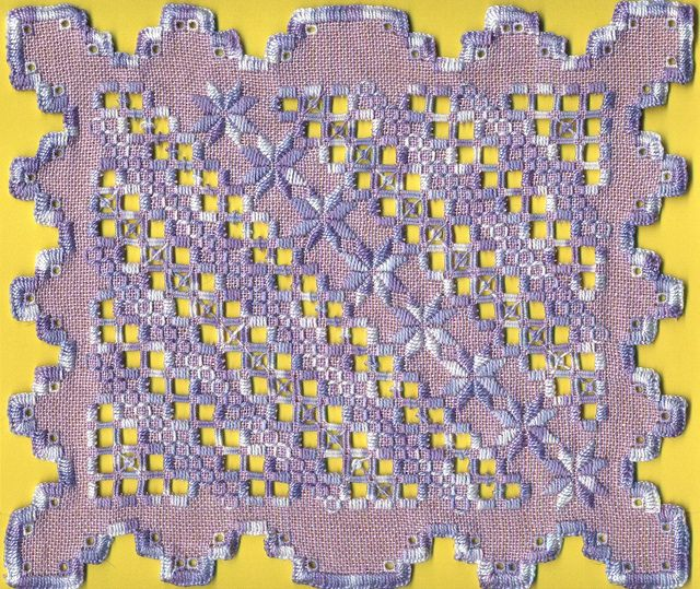 Hardanger embroidery H145a | Flickr: Intercambio de fotos