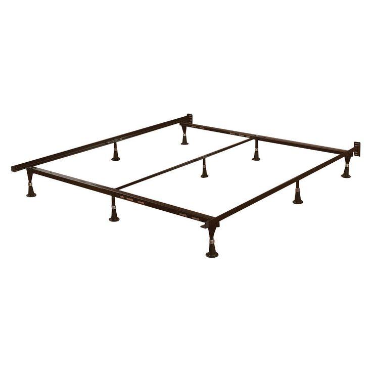 Adjustable Bed Frame - Black - Dhp