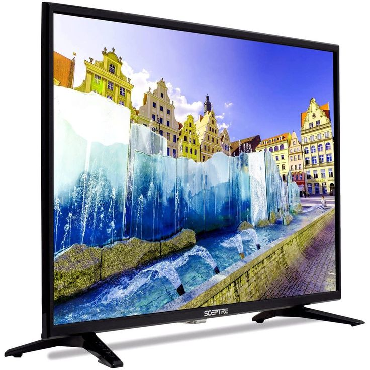 "LED TV 32"" Class HD 720P 60Hz LED TV Built-In Surround Speakers Wall Mountable  #Sceptre"