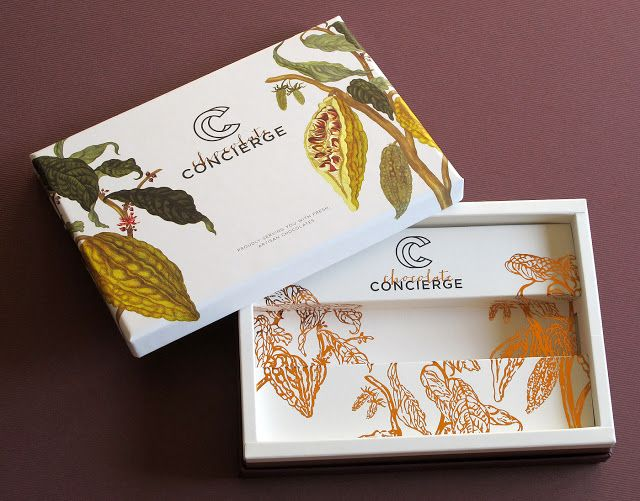 Chocolate Concierge on Packaging of the World - Creative Package Design Gallery