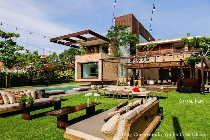 Dicas de casa e decora o no blog www - Fachadas de casas de campo ...