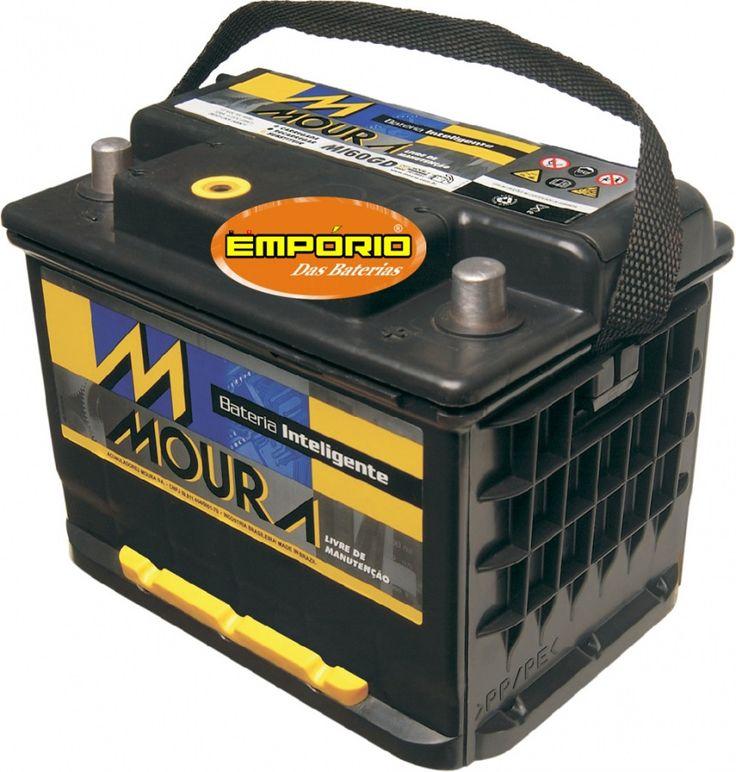 Bateria Moura 48Ah - Ampéres - M48FD / M48FE - 18 Meses de Garantia - Original de Montadora - BATERIA PARA CARROS 24 HORAS