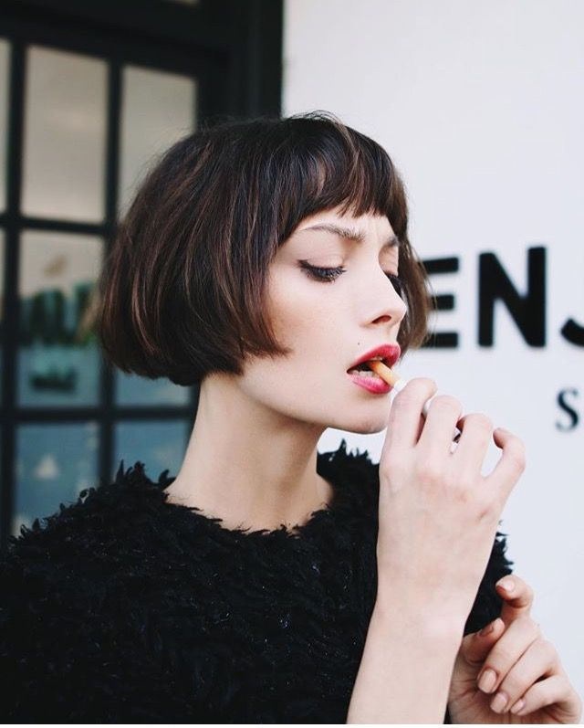 Surprising 17 Best Ideas About Short Bob Bangs On Pinterest Short Bob With Short Hairstyles For Black Women Fulllsitofus