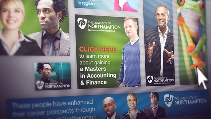 Accounting and Finance Masters Flash Banners