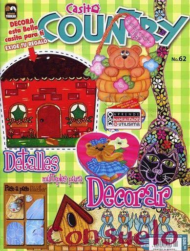 Revistas de manualidades gratis: manualidades para decorar country