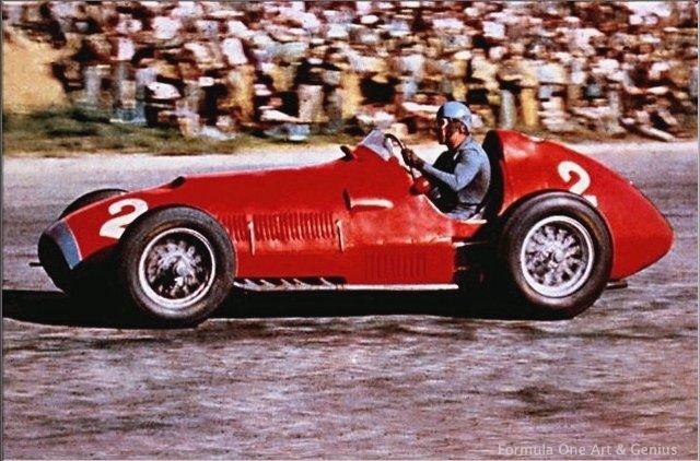 Scuderia Ferrari's first Formula One World Championship Victory.