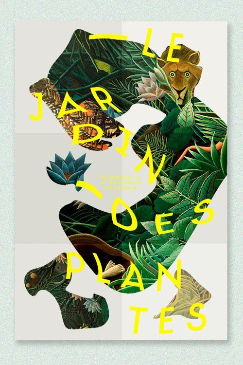 Studio l'Étiquette - Le Jardin des Plantes, Homage to Le Douanier Rousseau