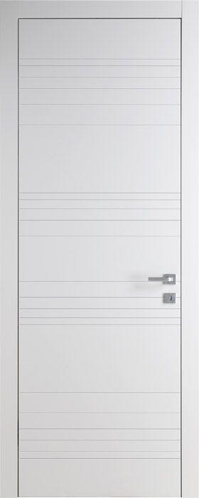 Модель TR02 Bianco   Межкомнатные двери со склада   Коллекция Trend   Продажа межкомнатных дверей шпон   Итальянские современные двери Union