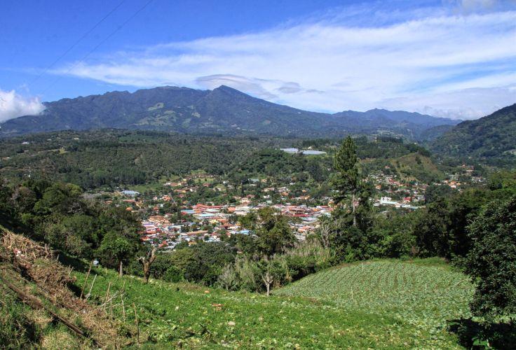 Le volcan Baru   Boquete, Panama