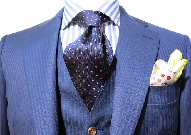 » ネクタイ選びに困ったら… vol.46渋谷店 | パーソナルオーダースーツ・シャツの麻布テーラー | azabu tailor