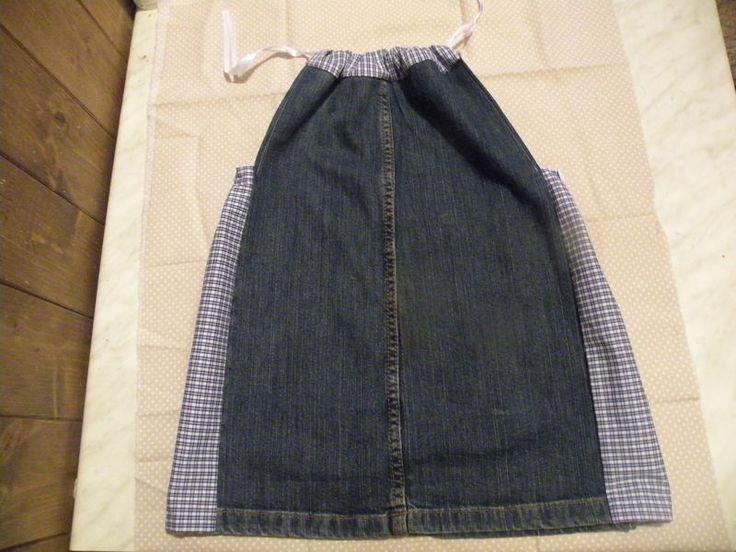 vestito jeans per bambina di bandullera su DaWanda.com
