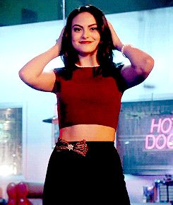 Discovered by S A S H A. Find images and videos about gif, riverdale and camila mendes on We Heart It - the app to get lost in what you love.