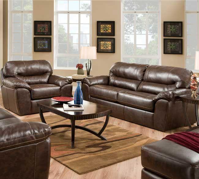 Jackson Brantley 4430 Bonded Leather Sofa Collection