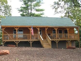 Tryon i blue ridge log cabins homes pinterest blue for Log home design e planimetrie