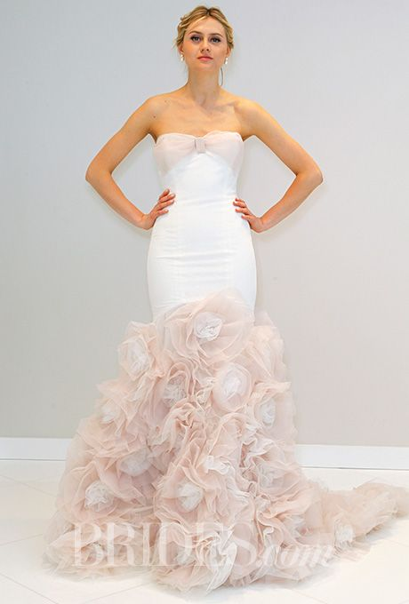 Brides: Randi Rahm Wedding Dresses   Spring 2016   Bridal Runway Shows   Brides.com | Wedding Dresses Style