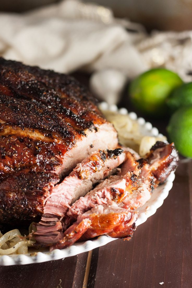 A traditional Christmas meal, this Cuban pork shoulder recipe is perfect for smaller gatherings. This is an authentic Cuban family recipe!