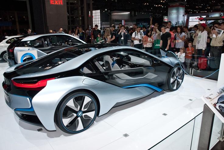 BMW Concept electric car