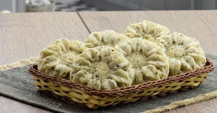 Muffin+di+pane+ai+semi+di+zucca