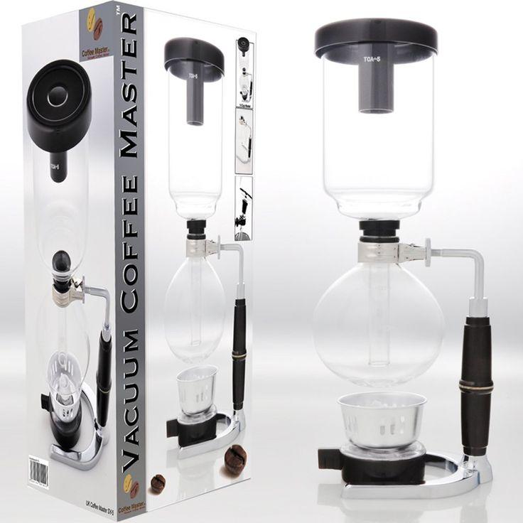 Best Coffee Maker-Different Coffee Maker-Coffee Maker Design-Vacuum Coffee Maker- Fantastic Tasting Coffee-Sediment Free Coffee