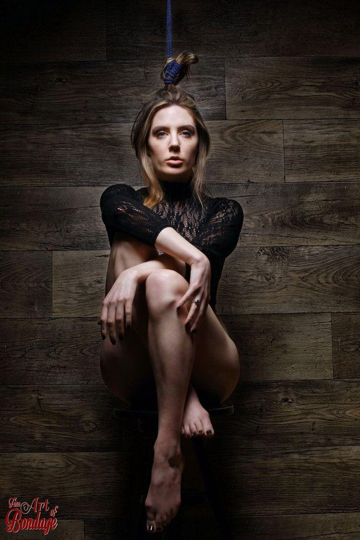 Samantha Bentley, hair bondage - Fine Art of Bonda by Model-Space