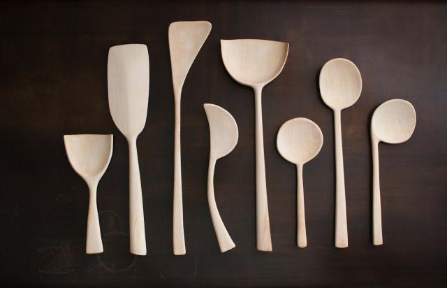 Joshua Vogel Sculptural Kitchen Tools