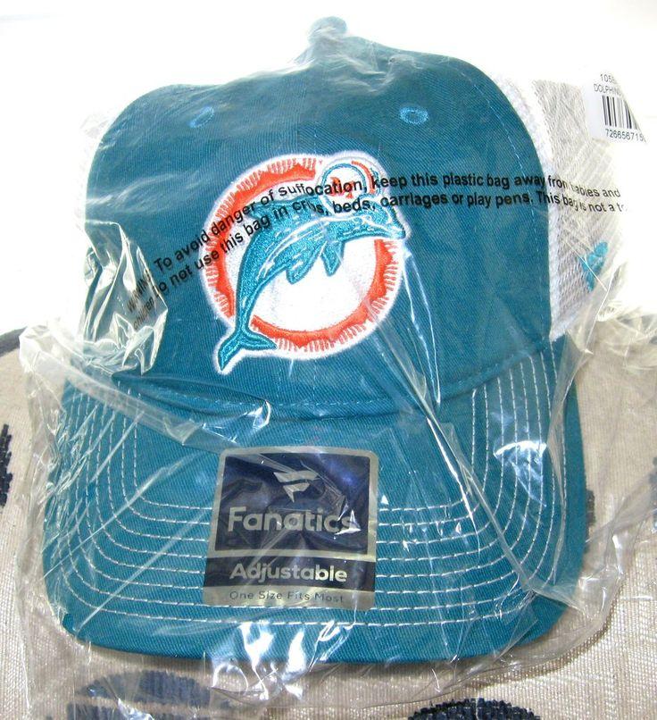 Miami Dolphins NFL Vintage Dolphins Logo Snapback Team Hat