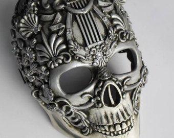 Unicorn schedel masker van SanseverinoFrancesco op Etsy