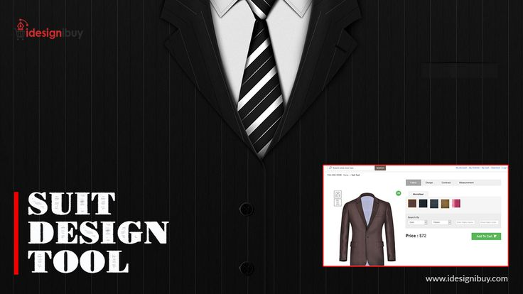 Provide your customers with the better way to buy their desired custom suits online with suit design tool. Let them define their own suits and boost your tailoring business.