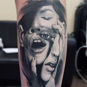 Behold, the Rare Tattoo Artist Who Can Actually Draw Faces! (10 pictures)