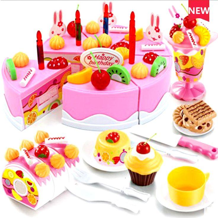 """Купи дешевле - Купить """"День защиты детей подарки играть дома игрушки торт ко дню рождения игрушки дети моделирование фруктовый торт маленький мальчик / девушка игры развивающие игрушки"""" всего за 1123.28 UAH."""