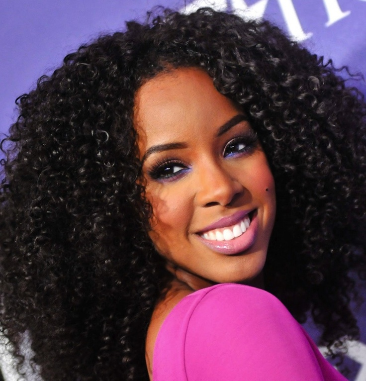 Crochet Braids Small : Kelly Rowland and crochet braids. Make the braids small enough that no ...