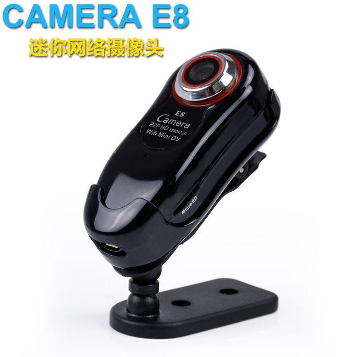 TOP Sale Mini WiFi dv camera E8 Video Mini DV Wireless IP Camera P2P Remote Camera video recorder camera