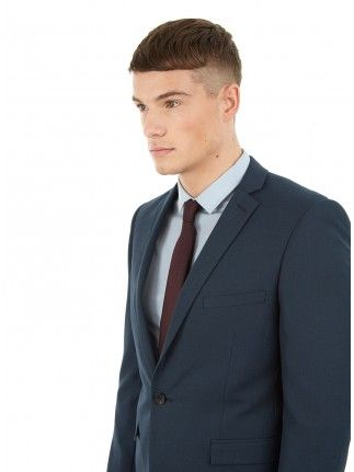FOREST GREEN SKINNY FIT SUIT JACKET