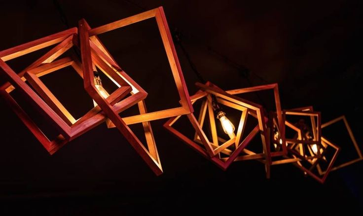 Wooden light Objekts designed by Emell Gök Che / Studio Artemell
