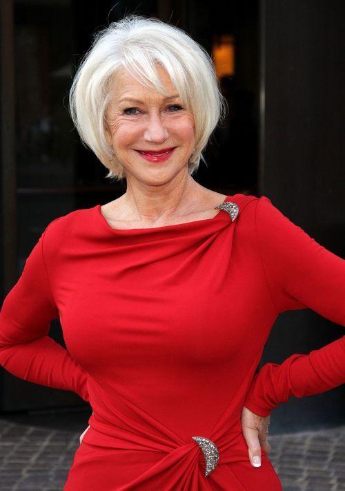 Derfrisuren.top Helen Mirren will lachend in ihr Grab gehen! mirren lachend Ihr helen Grab gehen